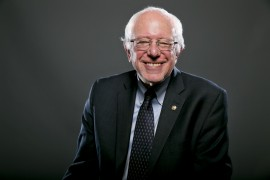 Democratic Presidential candidate Sen. Bernie Sanders, I-Vt., poses for a portrait before an interview, Wednesday May 20, 2015, in Washington. (AP Photo/Jacquelyn Martin)